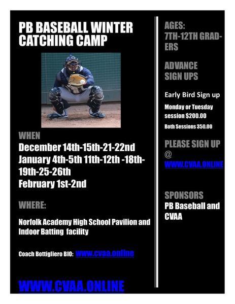Catcher Camp 2015