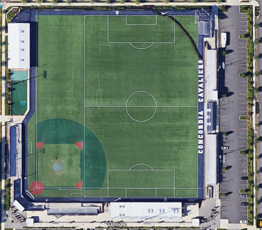 Schools With Odd Shaped Fields Dimensions High School