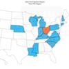 Ohio 2020 Freshman State Participation