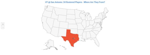 01-UT San Antonio 2020 Distribution By State
