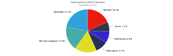 01-Mansfield 2019 Expense by Sport