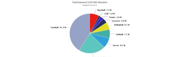 01-Shepherd 2019 Expense by Sport