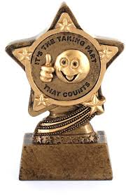 Participation Trophy by Infinity Stars 10cm [4