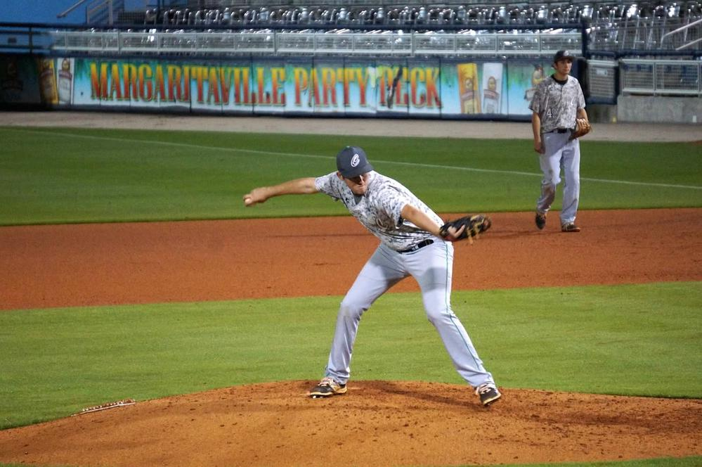 pitching at the Wahoos Stadium